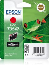 Epson T0547 - Inktcartridge / Rood