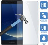 Huawei P10 - Screenprotector - Tempered glass - Case friendly