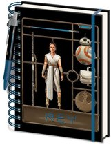 Hole In The Wall Star Wars: The Rise of Skywalker Airfix Rey A5 Notebook