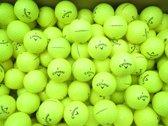 Golfballen gebruikt/lakeballs Callaway Supersoft geel AAAA klasse 50 stuks.