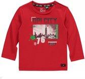 Quapi Jongens Shirt - Rood - Maat 68