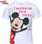 Disney Mickey Mouse t-shirt maat 122/128