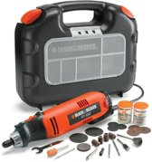 BLACK+DECKER RT650KA Multitool - Roterend - In koffer met 87 accessoires