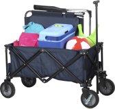 Campart Travel- Opvouwbare bagagewagen 70kg - HC-0910
