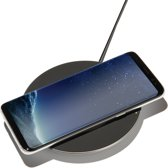 Belkin Qi wireless charger - 15W - zwart & zilver
