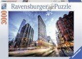 Ravensburger puzzel Flat Iron Building - legpuzzel - 3000 stukjes