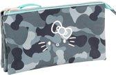Hello Kitty Camouflage - etui  - 22 cm - multi