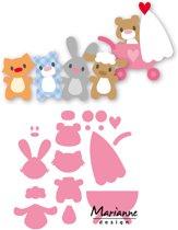 Marianne Design Collectables Eline's Baby Dieren