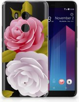 HTC U11 Plus TPU-siliconen Hoesje Roses