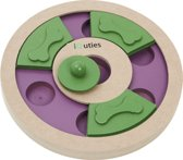 IQuties Treat Wheel - Hondenspel - 25 cm x 25 cm x 3 cm
