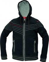 Assent hooded vest Winton zwart maat S