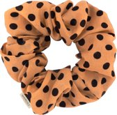 Polka dot scrunchie coffee