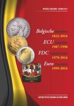 Officiële catalogus der belgische munten 1832-2016, editie 2017