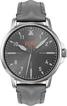 Hugo Boss Orange HO1550061 Horloge - Leer - Grijs - Ø 42 mm