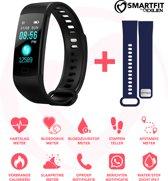 Stappenteller- Activity tracker-Stappenteller horloge- Smartwatch- Stappenteller App- Hartslagmeter horloge- Bloeddrukmeter-Calorieën teller- Top design- Smartfit by Exilien