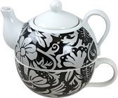 Cosy&Trendy Tea For One Black Leaves - Set-1