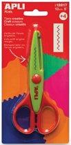 Apli Kids creatieve schaar zigzag 13 cm op blister