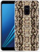 Samsung Galaxy A8 2018 Hoesje Snakeskin Pattern