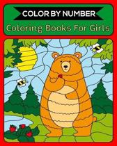 Color By Number Coloring Books For Girls: 50 Unique Color By Number Design for drawing and coloring Stress Relieving Designs for Adults Relaxation Cre