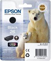 Epson 26 (T2601) - Inktcartridge / Zwart