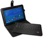 mr Handsfree Blue TabCover voor Galaxy Tab 3&4 - azerty