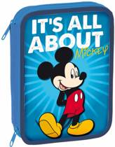 Disney Mickey All About - Gevuld Etui - 31 delig - Blauw