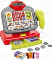 Speelgoed Kassa Met Licht En Geluid |  Elektronische Kassa Met Scanner Voor Kinderen v.a. 3 Jaar oud 27 cm