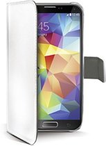 CELLY Eco-Leather Bookcase Wallet Samsung Galaxy S5 Wit
