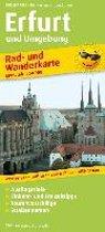 Rad- und Wanderkarte Erfurt und Umgebung 1:50 000