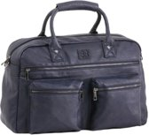 Enrico Benetti Omhang Hand & Schoudertas Western Bag Navy Blauw