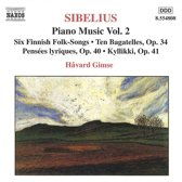 Sibelius: Piano Music Vol 2 / HAvard Gimse