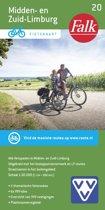 Falkplan fietskaart 20 - Midden-en Zuid-Limburg
