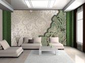Green | Gray Photomural, wallcovering