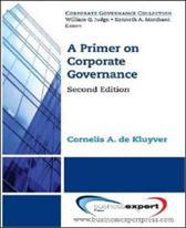 A Primer on Corporate Governance