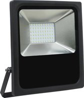 Led bouwlamp 50 watt daglicht zwarte behuizing