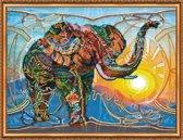 Kralen Borduurpakket - Mosaic Elephant