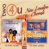 The New London Chorale - The Young Messiah + The Young Schubert 2CD set