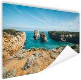 De eilandboog Poster 150x75 cm - Foto print op Poster (wanddecoratie woonkamer / slaapkamer) / Zee en Strand