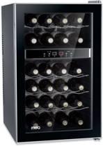 Moa wijnkoelkast / wijnklimaatkast dual zone voor 24 flessen (1-deurs)
