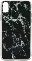 Uunique Street Marble TPU Case - Apple iPhone X (5,8'') - Zwart