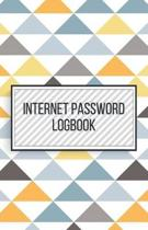 Internet Password Logbook-Small Size Alphabetical Password Notebook Organizer-5.5''x8.5'' 120 pages Book 7: Keep Track of Usernames Passwords Websites-B