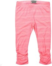 DJ Dutchjeans Legging Positive Vibes neon pink melange   -  Maat  110
