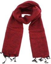 MoreThanHip Yaku - 'yakwol' sjaal - rood