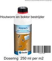 Houtwormmiddel 1 liter vloeibaar