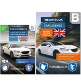 Car Theory book - Learning to drive - Traffic Regulations with Practise CD - 12 theory exams