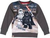 LEGO-Star-Wars-Sweatshirt-grijs-maat-110