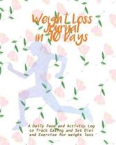 Weight Loss Journal in 90 Days