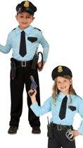 Politie & Detective Kostuum | Aardige Oom Agent | Jongen | 7 - 9 jaar | Carnaval kostuum | Verkleedkleding