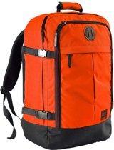 CabinMax Metz – Handbagage - Rugzak 44l– Schooltas - 55x40x20cm – Lichtgewicht - Vintage Oranje  (MZ V-OE)