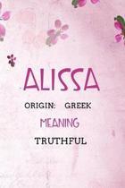 Alissa Greek Truthful